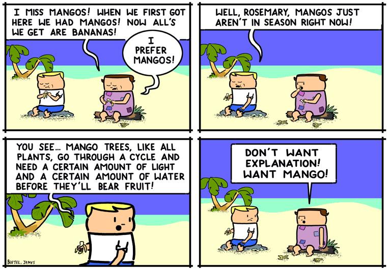 Prefers Mangos