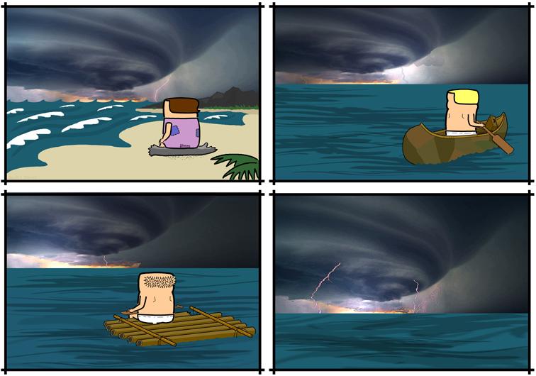 A Storm Approacheth