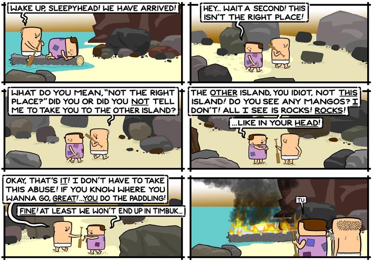 The Wrong Island
