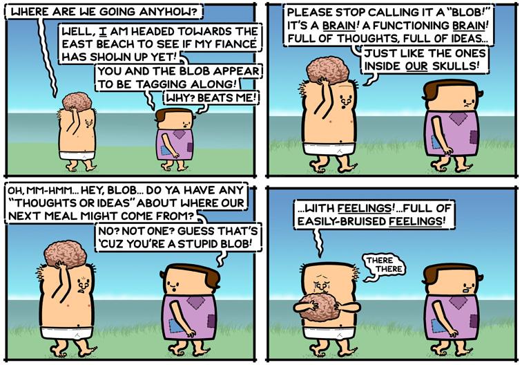 A Sensitive Blob